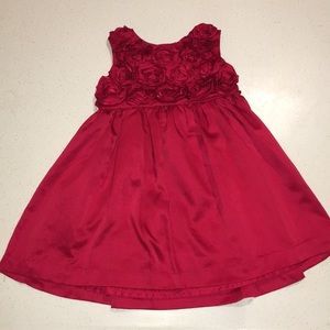 🌹Carter's rose bud dress.18mo